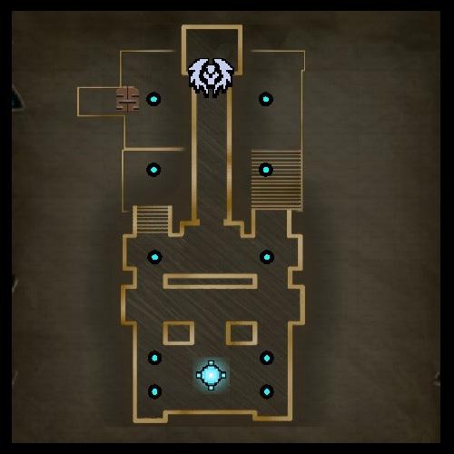 Lunch Break Upper Level Map from Orcs Must Die 2