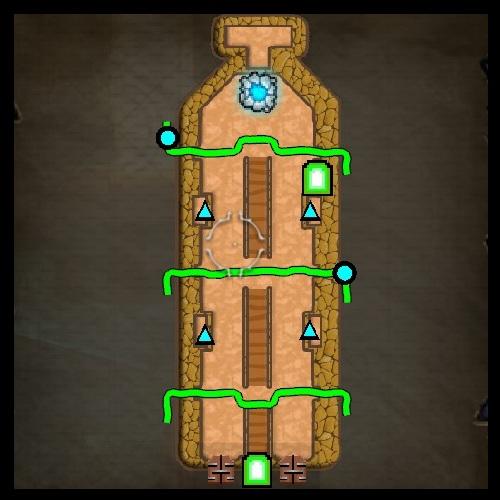 Hidden Gulch Map