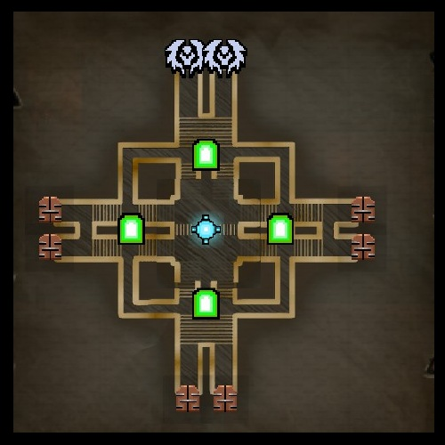 Finale Map from Orcs Must Die 2