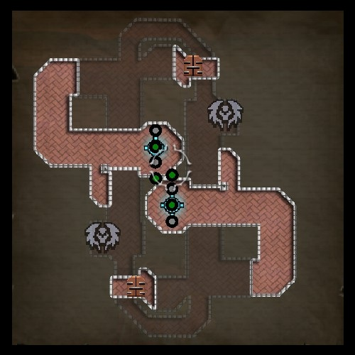 Twisted Halls Upper Map