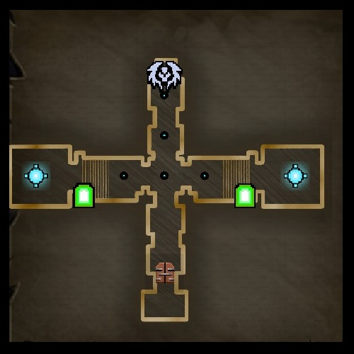 The Library Map from Orcs Must Die 2