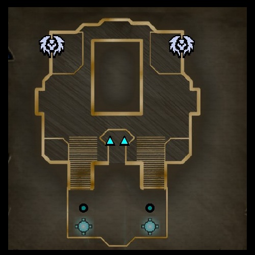 Hard Climb Lower Level Map from Orcs Must Die 2
