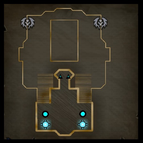 Hard Climb Upper Level Map from Orcs Must Die 2