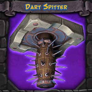 Fire and Water Dart Spitter Trap