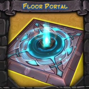 Fire and Water Floor Portal Trap