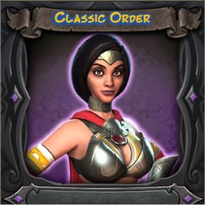 Sorceress Classic Order Vanity Skin from Orcs Must Die 2