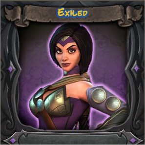 Sorceress Exiled Vanity Skin from Orcs Must Die 2