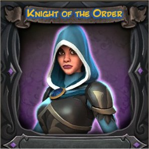 Sorceress Knight of the Order Vanity Skin from Orcs Must Die 2