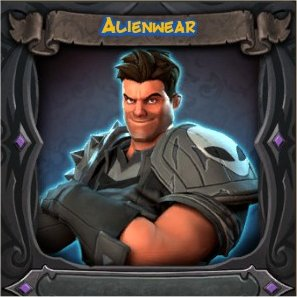 War Mage Alienwear Vanity Skin from Orcs Must Die 2