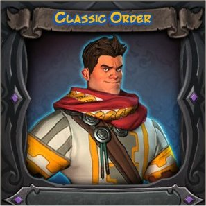 War Mage Classic Order Vanity Skin from Orcs Must Die 2