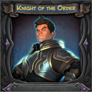 War Mage Knight of the Order Vanity Skin from Orcs Must Die 2